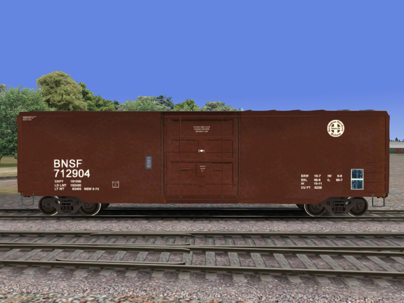 BNSF 50ft PS Boxcar02