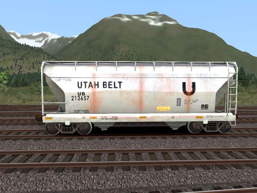 UBelt 2bay Covered Hopper