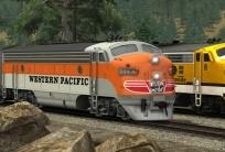Western Pacific FP7 'California Zephyr'