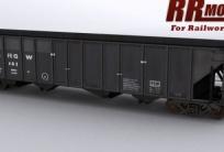 Bethlehem 100 ton 3483 cuft Quad Hoppers DRGW POST SP Railworks
